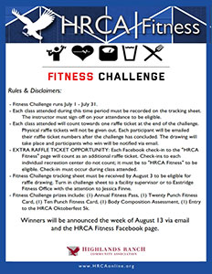 Fitness Challenge Rules